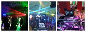 Gruppenbild Disco Lasershow Party DJ Alphasound2000